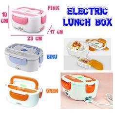 Lunch Box Electric Penghangat Makanan elektrik kotak makanan tempat makan dengan pemanas power