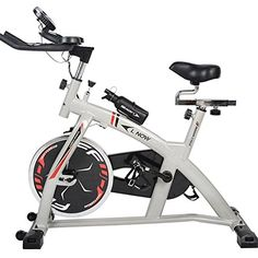 L NOW LD598 Health  Fitness Indoor Stationary Cycling Bike with Pulse for Aerobic and Cardio Exercise and Training >>> You can find out more details at the link of the image.
