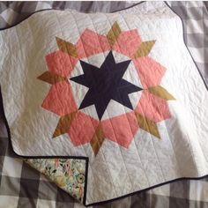 "perfect quilt for a baby girl born in the fall - Baby ""Swoon"" Quilt · Marquitta Shop · Online Store Powered by Storenvy"