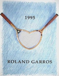 roland garros posters from 1980 to 2010