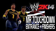 WWE 2K14 - Mr Touchdown Entrance + Finishers