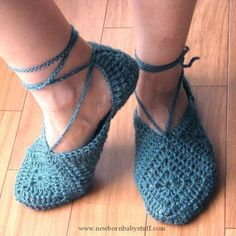 Crochet Baby Booties Slippers  PDF Crochet Pattern...