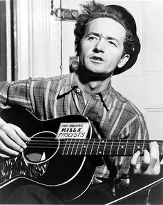 """Favourite tweets from @David Horgan: """"I hate a song that makes you feel like you are not any good."""" - Woody Guthrie"""