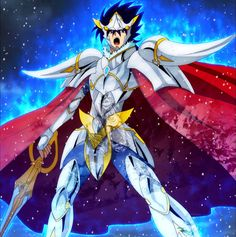 Collage deFrodi de Gullinbursti, nuevo dios guerrero de Asgard en el anime de Saint Seiya Soul of Gold (Episodio Nº 01)