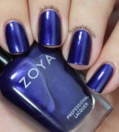 """Zoya """"Neve""""- My nail polish collection - - - Zoya """"N. - Zoya """"Neve""""- My nail polish collection – – – Zoya """"Neve""""- M - Natural Nail Polish, Blue Nail Polish, Blue Nails, Natural Nails, Pink Nail, Best Nail Art Designs, Nail Polish Designs, Nail Polish Hacks, Nail Polish Collection"""