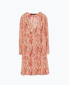 Image 8 of PRINTED TUNIC WITH FLARED SLEEVES from Zara
