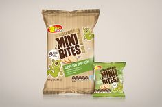 Designed by Boxer & Co. , Australia .   This healthier alternative to chips was created to target kids snacking occasions and to be sold in...