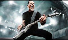 James Hetfield by zincrap.deviantart.com