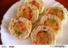 Slovak Recipes, Bread Rolls, Party Time, Healthy Snacks, Muffin, Brunch, Food And Drink, Eggs, Appetizers
