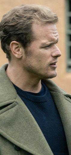 James Fraser Outlander, Serie Outlander, Sam Heughan Outlander, Sam And Cait, Funny Faces, Celebrity Crush, Crushes, Celebrities, Men