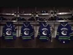 Vancouver Canucks Dressing Room tour