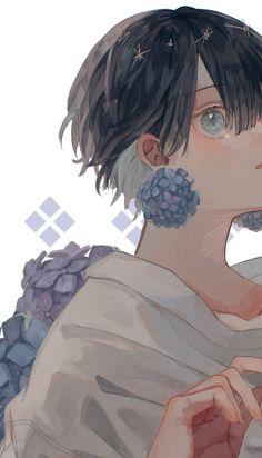 Aesthetic Art, Aesthetic Anime, Arte Obscura, Cute Anime Guys, Art Portfolio, Anime Art Girl, Beautiful Artwork, Anime Artwork, Cute Art