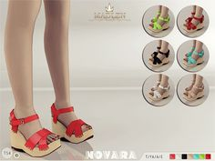 The Sims Resource: Madlen Novara Sandals by MJ95 • Sims 4 Downloads