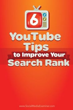 Are your YouTube views falling?  Understanding how you can take advantage of YouTubes algorithm will help your channel and videos be seen by more people.  In this article youll discover how to make your video rank higher in YouTube search results. Via @