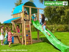 Outdoor play equipment by Jungle Gym - Jungle Villa
