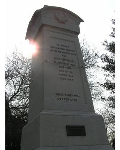 War Memorial, Gainsborough, Lincolnshire