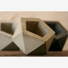 Andrew Stuart: Concrete Planter Natural Gray, at 30% off!