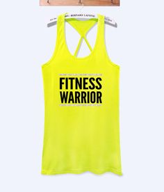Fitness warrior fitness workout tank top | workoutcloth