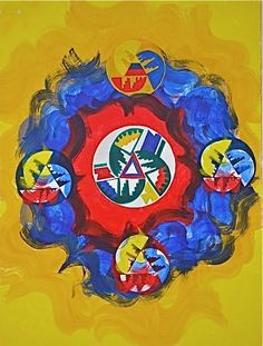 Mirna Salamanques Venezuelan contemporary painter