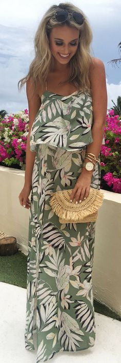 LOVE THIS PRINT!✨ // Summer Outfit Idea by Champagne and Chanel