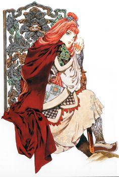 陽子 Youko:十二国記 Juuni Kokki / Twelve Kingdoms - art by Yamada Akihiro 山田章博