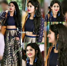 10 Times When Yeh Rishta Kya Kehlata Hai Fame Naira Aka Shivangi Joshi Gave Fashion Goals With Her Casual Looks Girls Fashion Clothes, Women's Fashion Dresses, Girl Fashion, Girl Outfits, Clothes For Women, Dress Outfits, Pakistani Dresses, Indian Dresses, Indian Outfits