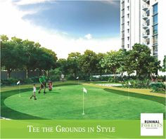 Grab your club and head over to flaunt your golfing skills down at the putting greens of Runwal Forests, surrounded with huge landscaped gardens with spacious lawns.