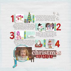 love this idea of making a list. would be great for 12 days of christmas