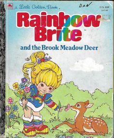 Regina Regenbogen Sternschnuppe ??? Dolls & Bears Top Zustand Rainbow Brite Horse 1983 Art Dolls-ooak
