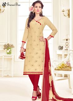Orphic Linen Beige Churidar Suit  For More Information WhatsApp 7202080091 Or Visit www.SareeBe.com #red #designer #kurti #fashionista #makeup #UK #outfitoftheday #women-fashion #model #indian #saree #ramadanmubarak #ethnic #picoftheday #cool #summer-style #streetstyle #beauty #styles #rakshabandhan #rakshabandhangift