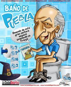 Baño de Puebla, el cartón de César Orona