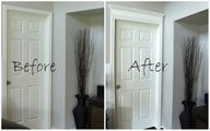 The wow FACTOR! How to add a door header without removing the existing casing...brilliant!""
