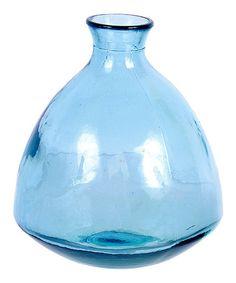 Love this Aqua 7.5'' Glass Jar on #zulily! #zulilyfinds