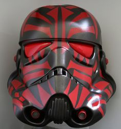 Sith Empire Stormtrooper Helmet by Jan Duursema