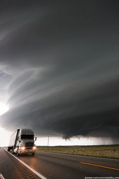 Ominous (very intense high precipitation supercell storm )