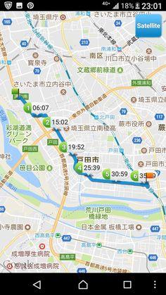 20170716 さいたまから台東区 途中戸田公園駅から電車利用。