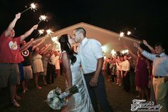 Sparkler exit at Colonial Estate Pavilion. #sparklers #sparklerweddingexit #sparklerexit #colonialestate www.colonialestate.net