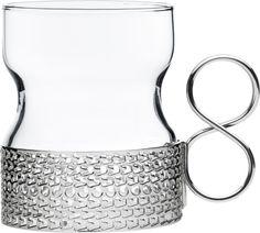Iittala - Tsaikka Glass with holder 23 cl 2 pcs - Iittala.com