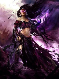 Reminds me of Starfire's sister Blackfire
