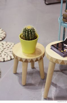 Bondville: 10 products to watch from Sydney Kids InStyle 2015 - Homely Creatures stools