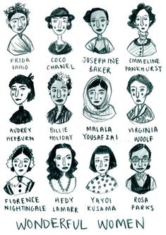 50 Best Strong Women Quotes In Celebration Of Women's History Month All of these women kicked ass and took names. Let their histories inspire you to change your life and the lives of others. Feminist Af, Feminist Quotes, Feminist Icons, Frida Kahlo Feminist, Equality Quotes, Who Runs The World, Strong Women Quotes, Quotes Women, Intersectional Feminism