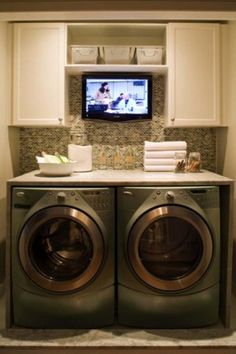 Small Laundry Room Design Ideas-59-1 Kindesign