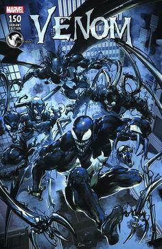 Venom #150 Unknown Comics Exclusive Clayton Crain Cvr A (5/24/2017)