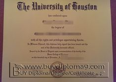 university of Houston degree Buy diploma, buy college diploma,buy university diploma,buy high school diploma.Our company focus on fake high school diploma, fake college diploma university diploma, fake associate degree, fake bachelor degree, fake doctorate degree and so on.  There are our contacts below: Skype: +8617082892425 Email: buydiploma@yahoo.com QQ: 751561677 Cell, what's app, wechat:+86 17082892425 Website: www.buydiploma9.com