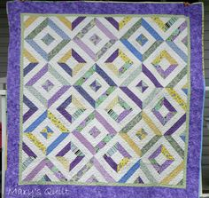 summer in the park quilt. View the youtube tutorial here http://www.youtube.com/watch?v=J5WgTyqB8Pc