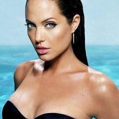 Angelina Jolie. She is definitely my favorite celebrity. What an amazing growth and transformation she has gone through the years...