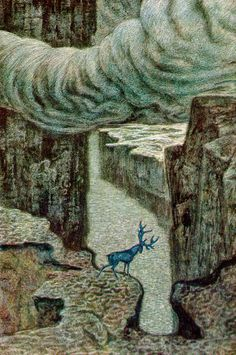 illustration of ibsen's peer gynt by savva brodsky
