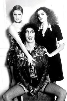 Rocky Horror Show...this is Cardio Motivation because if Tim Curry looks this damned good in stockings, so can I.  Freakin love me some Frank-n-furter!!!!!!