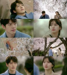 "[Spoiler] ""Uncontrollably Fond"" Kim Woo-bin and Suzy sad ending from beginning to end Suzy Drama, Kbs Drama, Kim Woo Bin, Uncontrollably Fond Kdrama, It's Okay That's Love, Cute Love Wallpapers, Ulzzang Couple, Bae Suzy, Korean Entertainment"