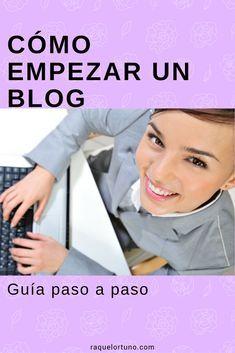 Cómo empezar un blog, guía paso a paso
